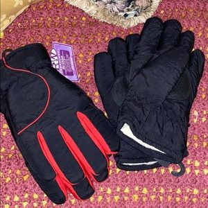 Two Pairs of Women's Ski Gloves, NWT, Size Large